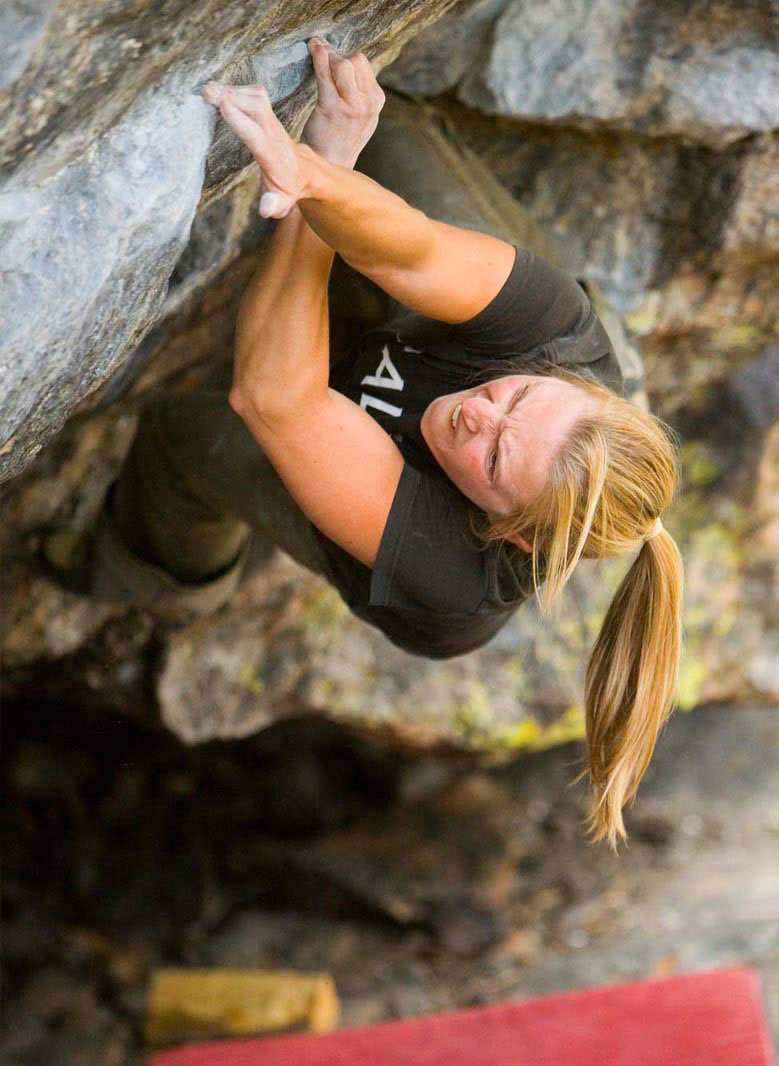Bouldering photography