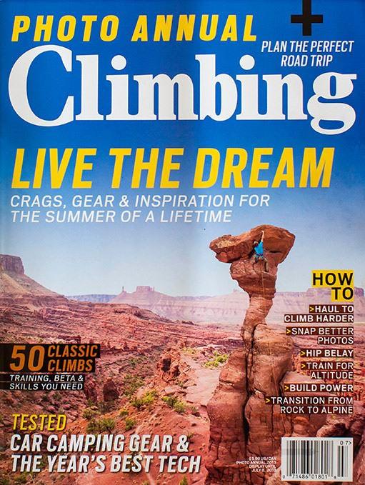 Climbing Magazine | Photo Issue | Nathan Welton Photo