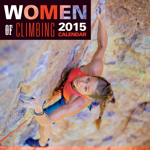 2015 Women of Climbing Calendar Cover