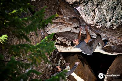 Bouldering in Rocky Mountain National Park